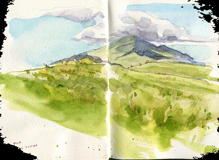 Azores Sketch Tour Portugal
