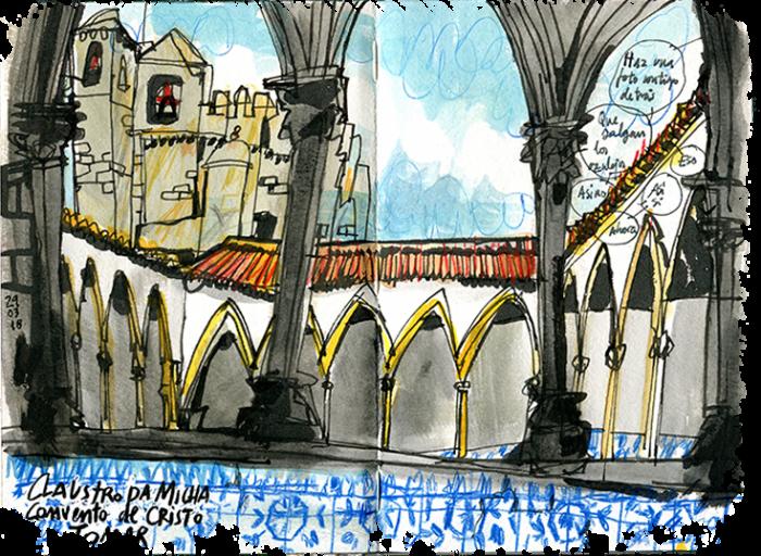 Center Of Portugal Sketch Tour Portugal